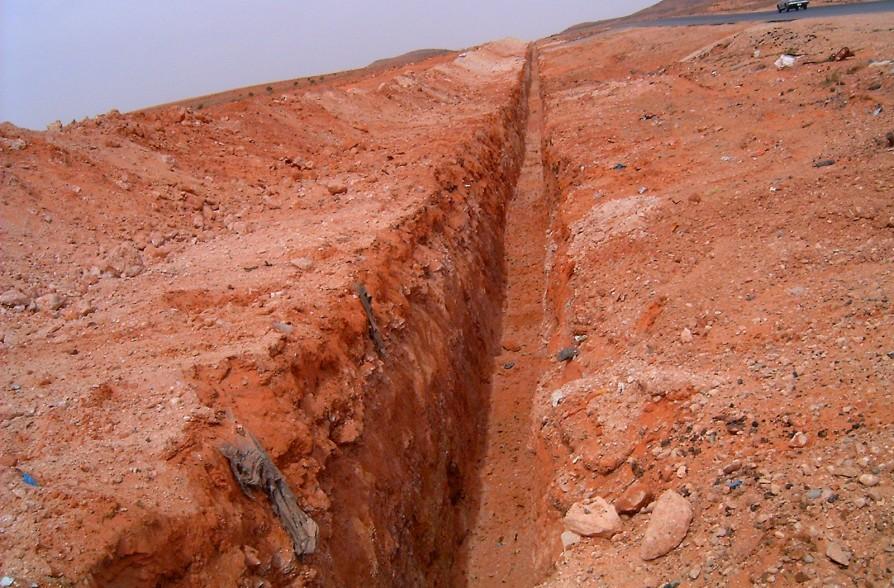 Abuzeyyan-Mizdah Boru Hattı kazı Çalışması-2