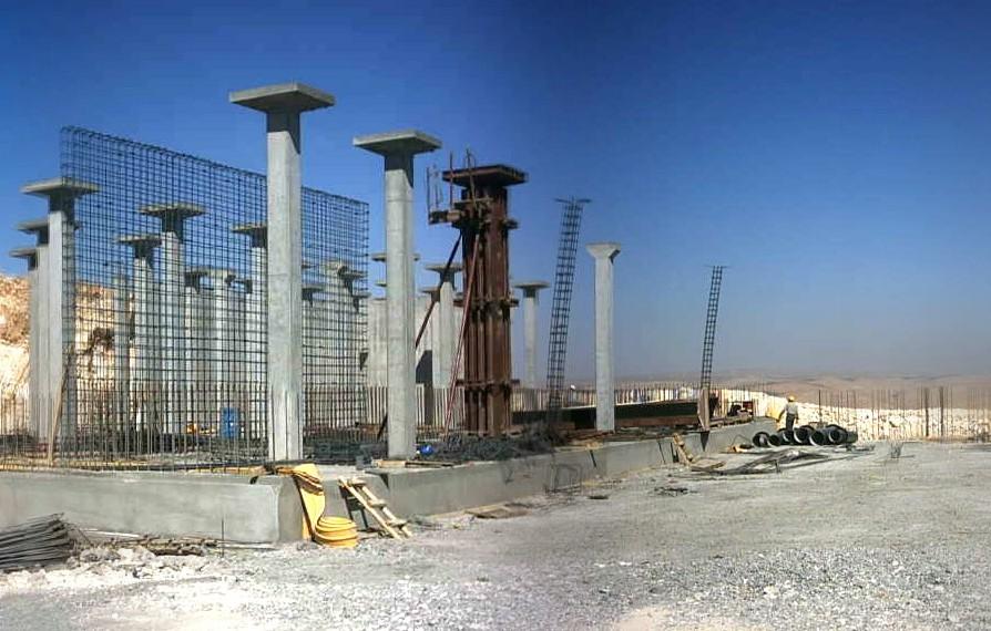 DY17-2 Su Deposu inşaatı