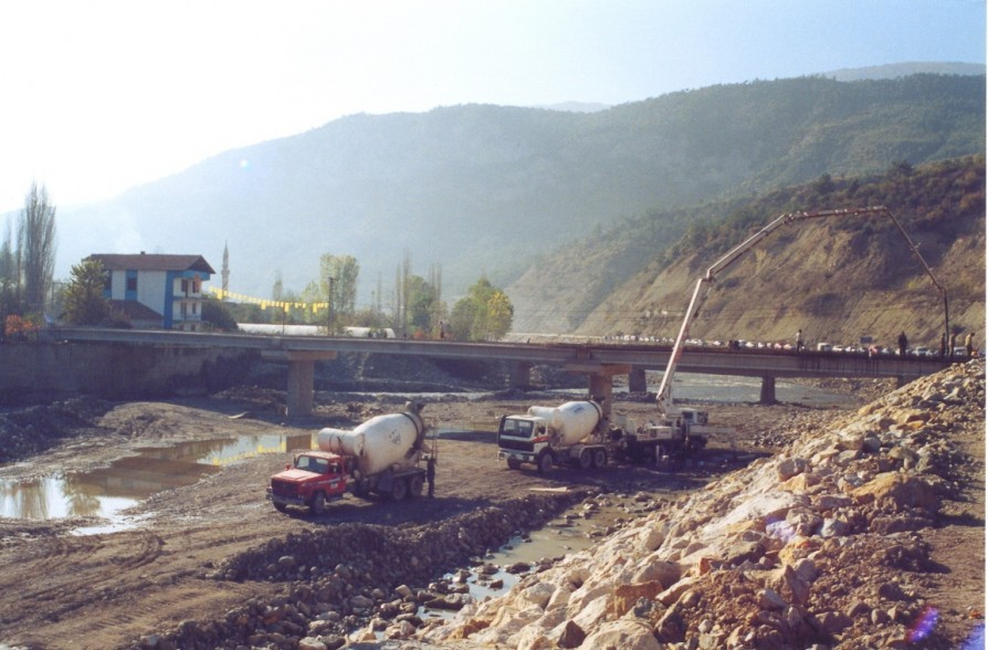 KARABUK FLOOD CONTROL STRUCTURES CONSTRUCTION