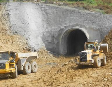 Ordu Atilla HES T2 Tüneli Girişi