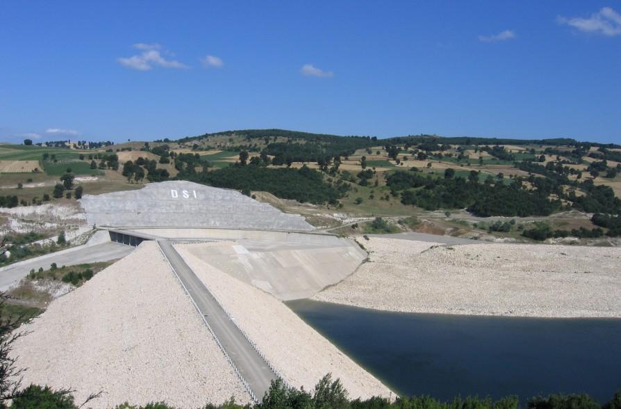Samsun- Vezirköprü Barajı Genel Görünümü-1
