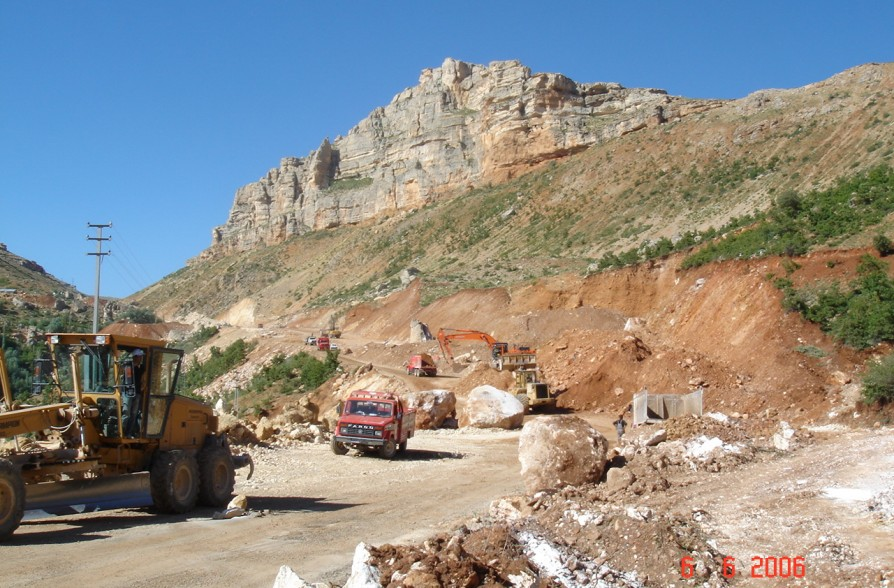 KONYA TASKENT-ADILLER ROAD CONSTRUCTION