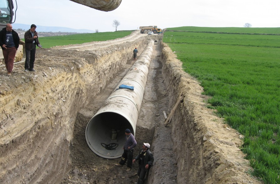 SAMSUN VEZIRKOPRU PLAIN IRRIGATION